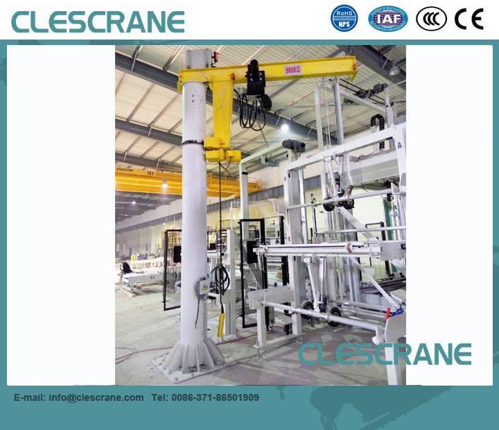 CJZ Series China crane Pillar Mounted Floor Jib Crane US $1000-3000 / Set ( FOB Price)