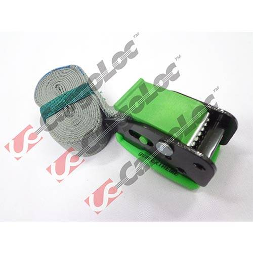 2m Cam Buckle with Paddle, Green