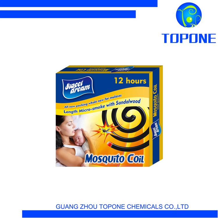 Sweet Dream Brand Hot Sale 138mm Micro Smoke Mosquito Coil