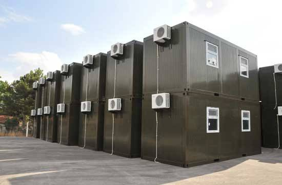 Military Camping Container House