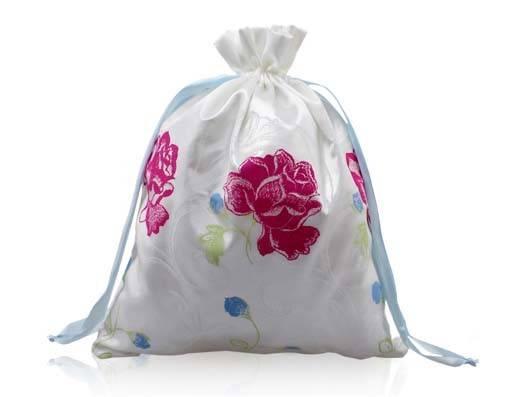 wholesale drawstring gifts satin bag