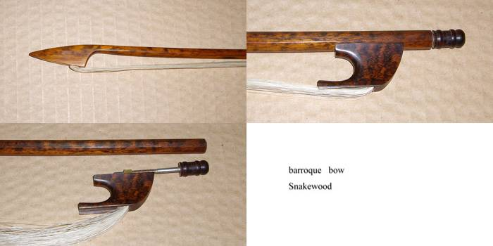 BARROQUE VIOLIN BOW