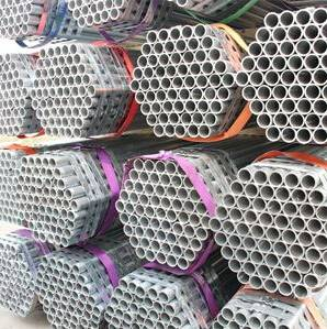 Hot dipped galvanized KSD3566 Korea scaffolding pipe