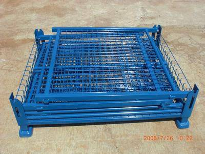 PVC-coated metal stock storage box warehouse cage  (FOR MARKET OR WAREHOUSE) manufacturer direct sal