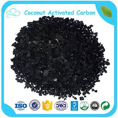Factory Price 4*8 Granular Coconut Shell Activated Carbon For Water Treatment