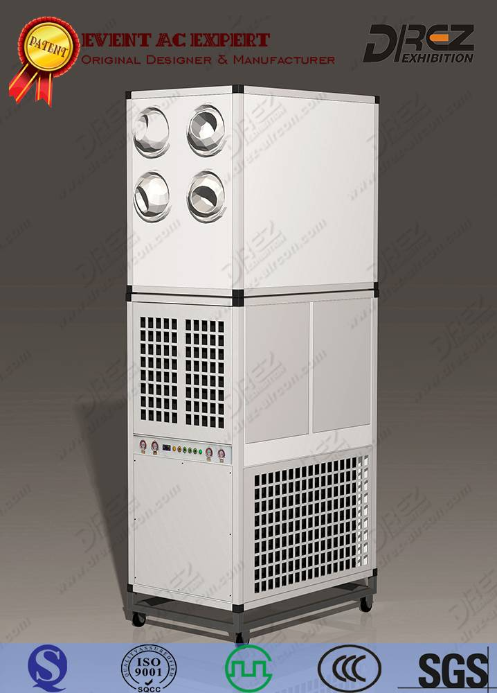 Drez 12 Ton Eco-Friendly Packaged Ducted Air Conditioner for Wedding Tents