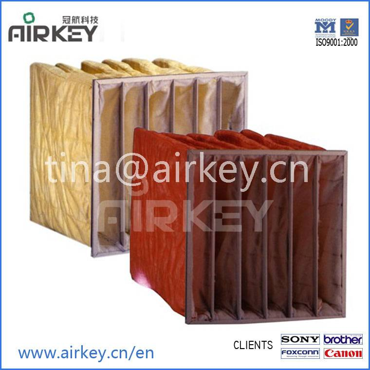 Air filter bags for cleanroom ISO certified 20 years factory