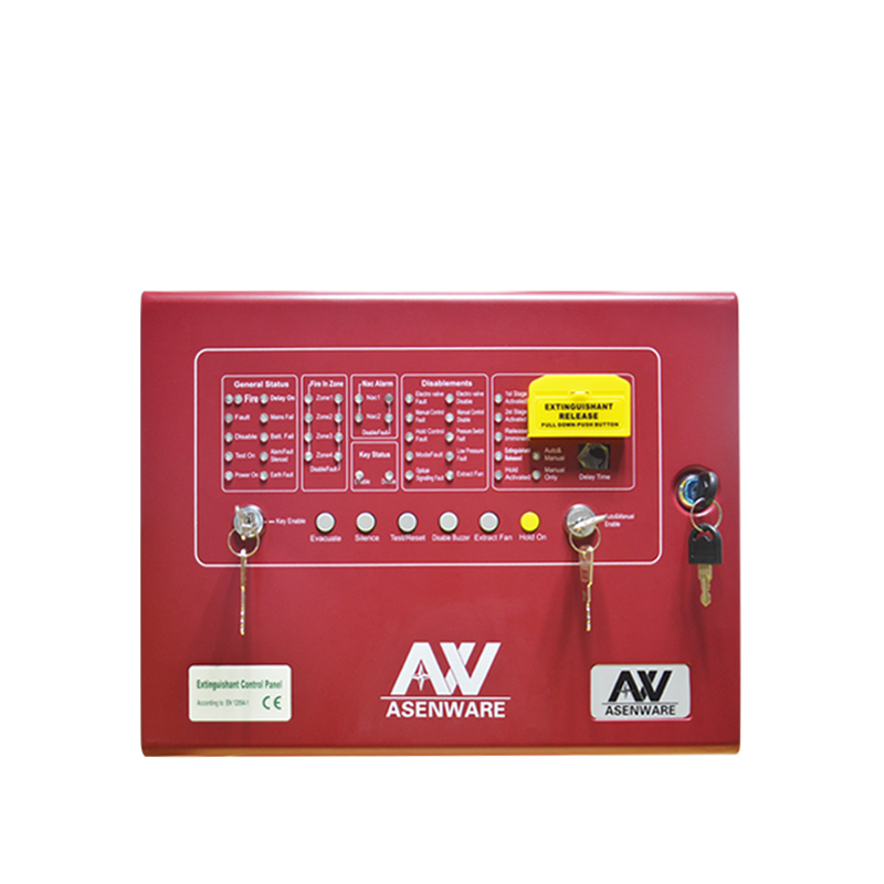 4 zone Automatic Gas Extinguisher Control Panel