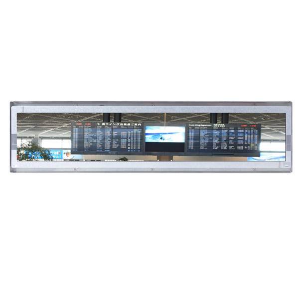 42inch Industrial Open Frame Bar LCD Monitor/ PCAP, Touch/ 1920x480/ RGB, DVI