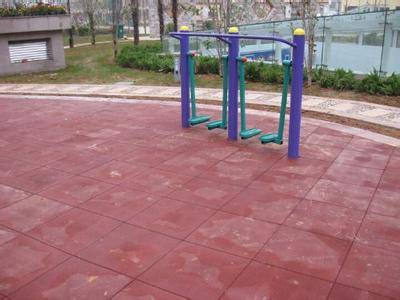 Good quality and competitive price non-toxic and anti-slip outdoors rubber tiles