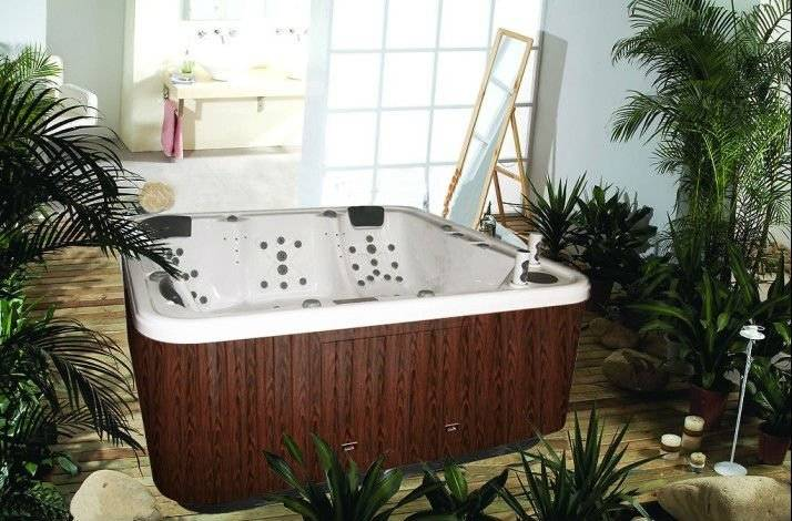 whirlpool spa tub for 5 adults