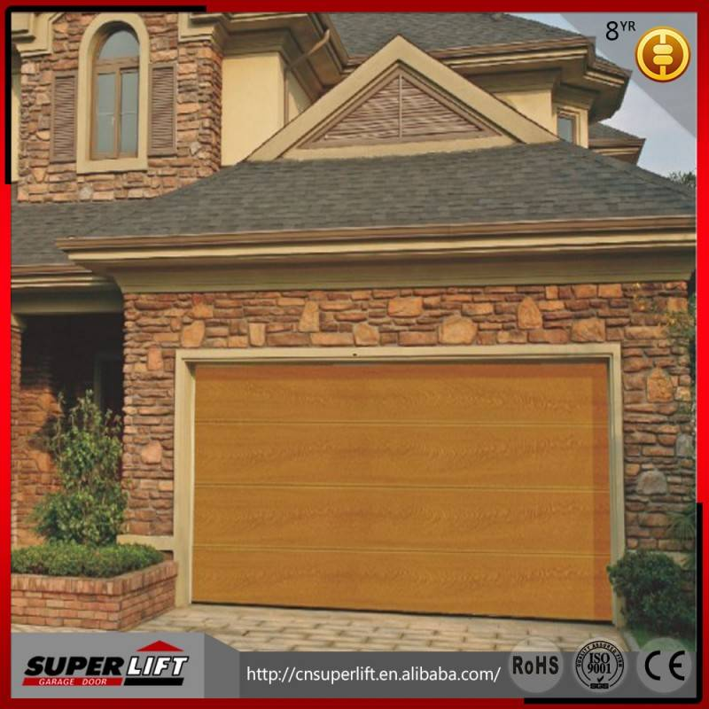 Home sectional garage door