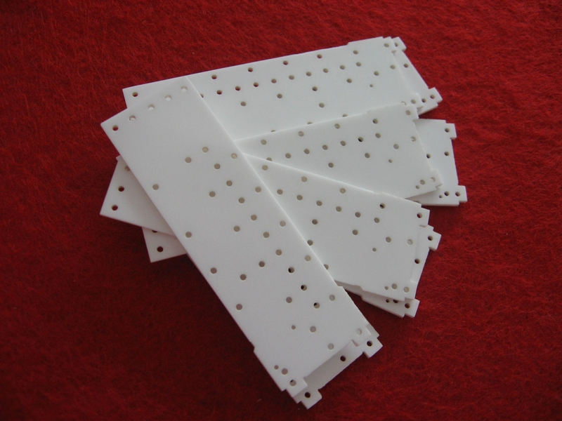 96% al203 plate laser boring substrate