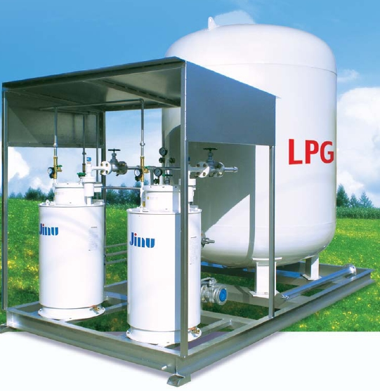 LPG Package tank supply system