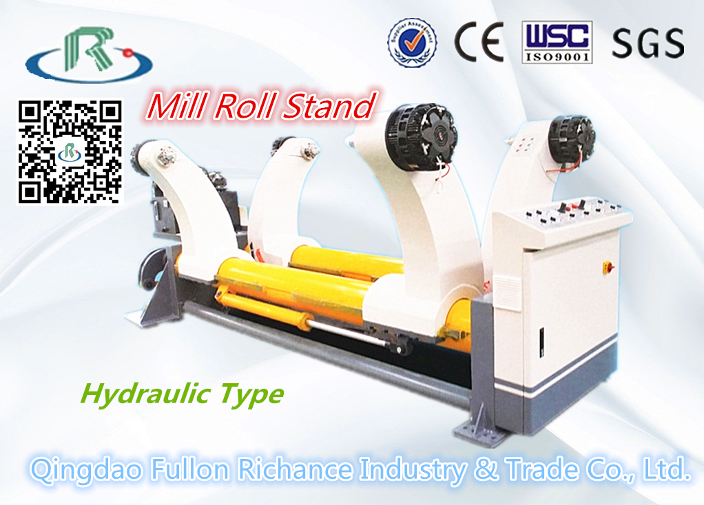 ZJV-5 Type Corrugated Carton Hydraulic Shaftless Mill Roll Stand