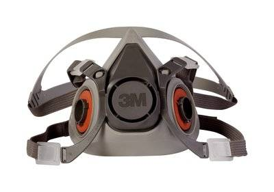 3M Half Facepiece Respirator 6000 Series [Actual Goods]