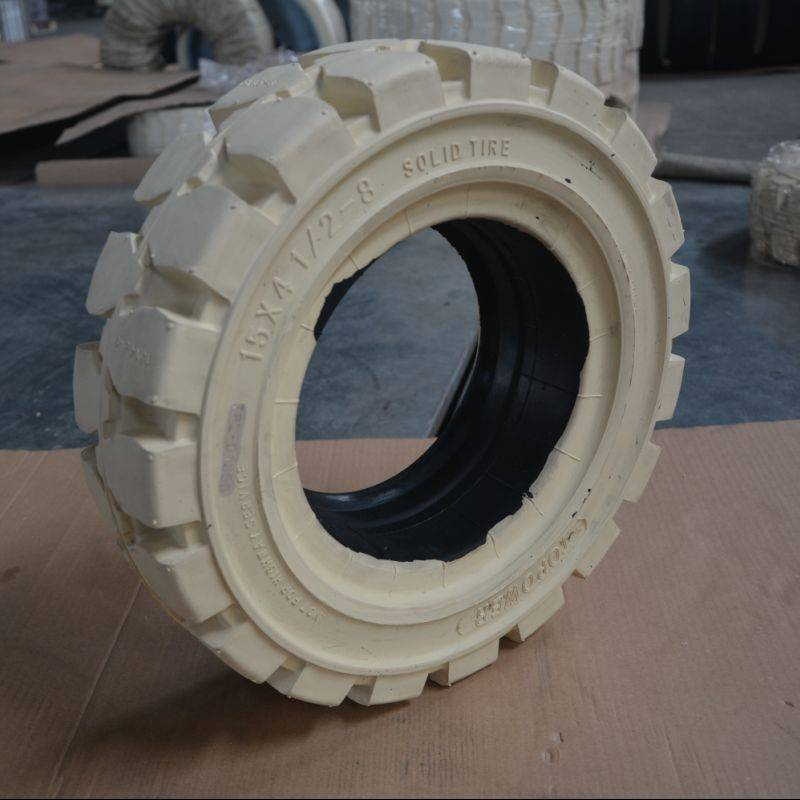 forklift solid wheels 15x4 1/2-8 in ports stations