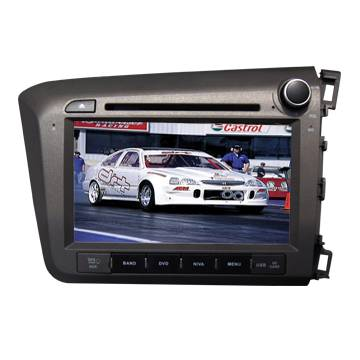 HONDA New Civic 2012 Right car gps system_car dvd player