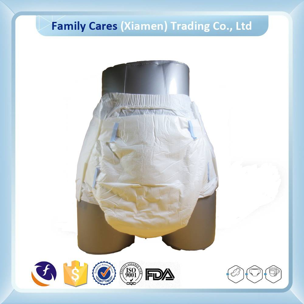 Ultra thick adult diaper for hospital postoperative patient