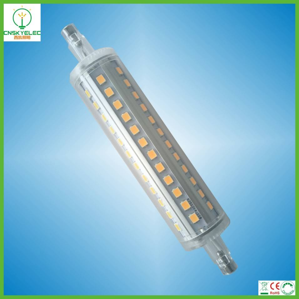 10w led r7s lamp r7s led light r7s led bulb 118mm 10w r7s