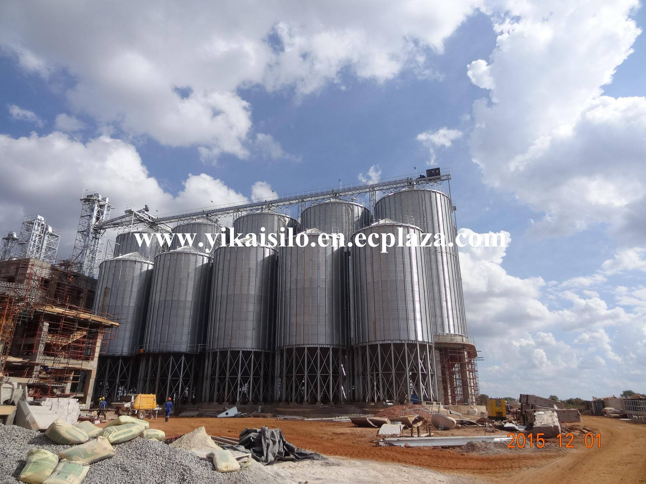 Hopper Bottom Grain Silo