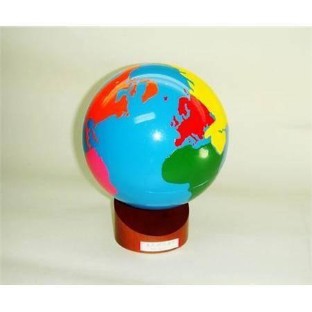 Montessori Globe of the Continents