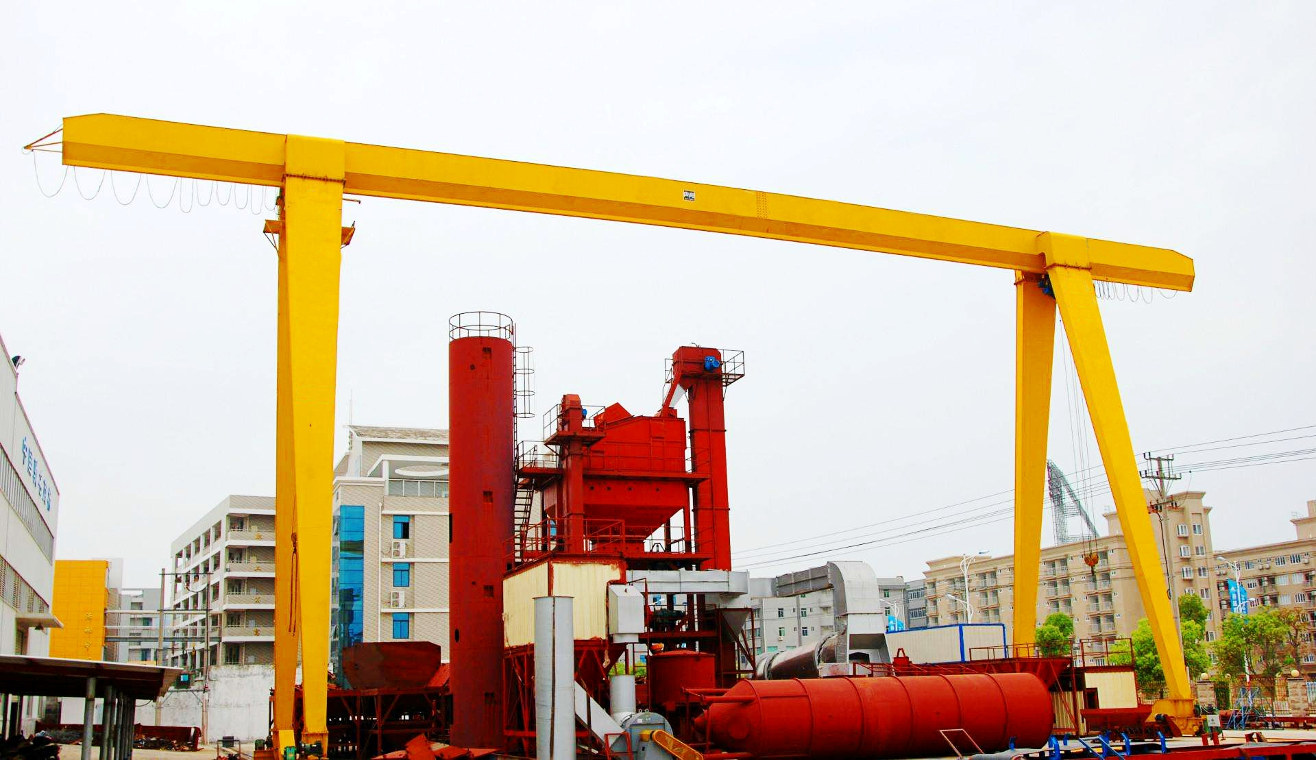 China Supplier Outdoor Single Girder Gantry Crane