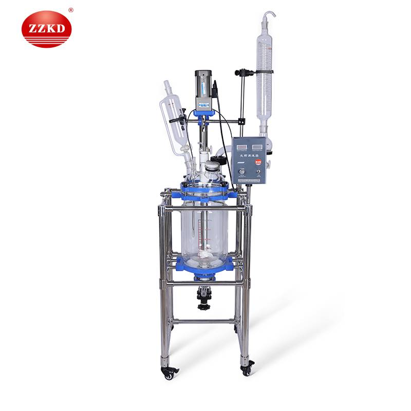 Lab Jacketed Glass Reactor