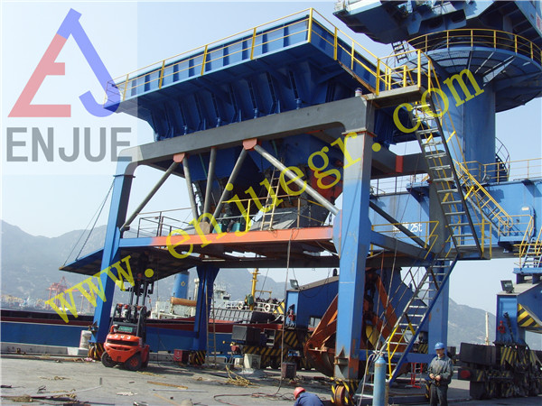 50 M3 Mobile Hopper Industry Cement Dust Proof Hopper for Port