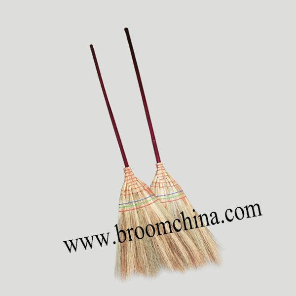 long bamboo handle millet broom corn broom