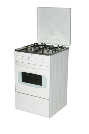 20inch freestanding oven with 4 burner stove cooker