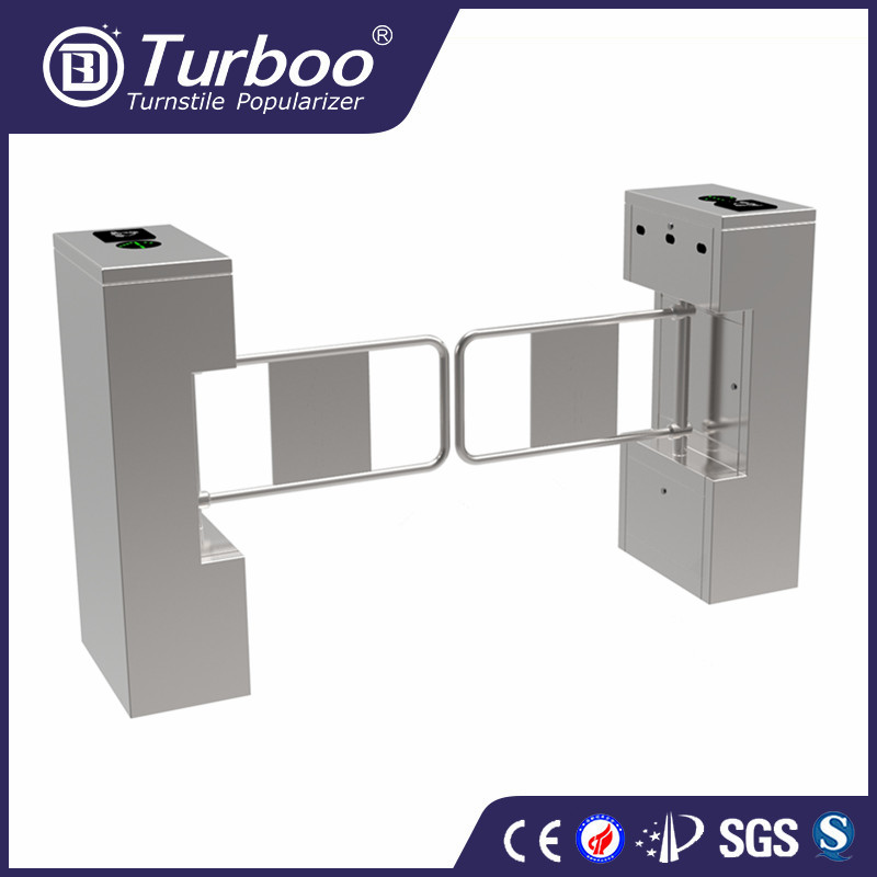 Turboo LV328:Swing turnstile with fingerprint system, swing barrier gate