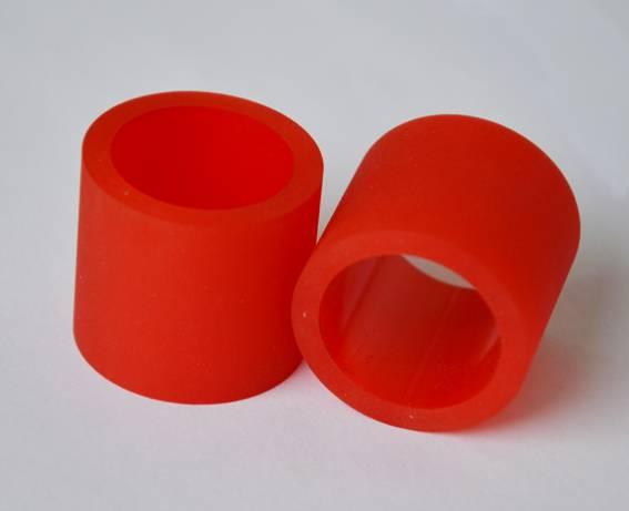Elastic abrasion resistance Industrial Red PU Polyurethane parts
