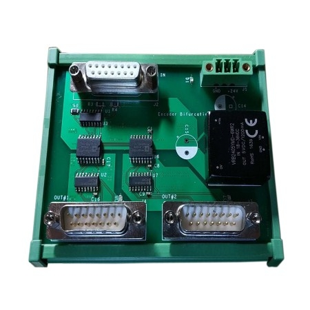 1 input, 2 output signal converters frequency for encoder