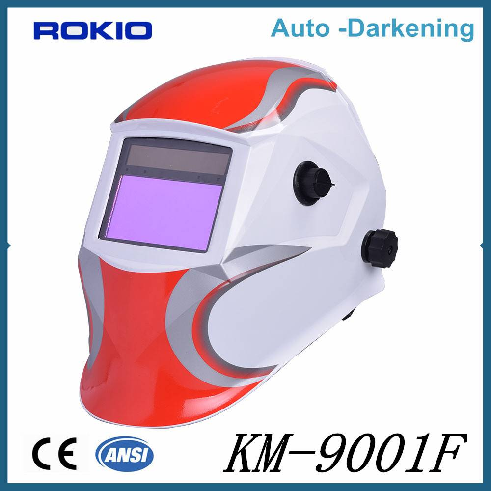 High Quality Low Price Auto darkening welding mask/helmets ideal for MMA TIG MIG PAC PAW CAC-A