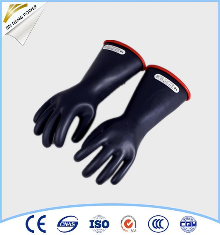 35kv 25kv 20kv 10kv electrical insulated High Voltage Gloves for selling