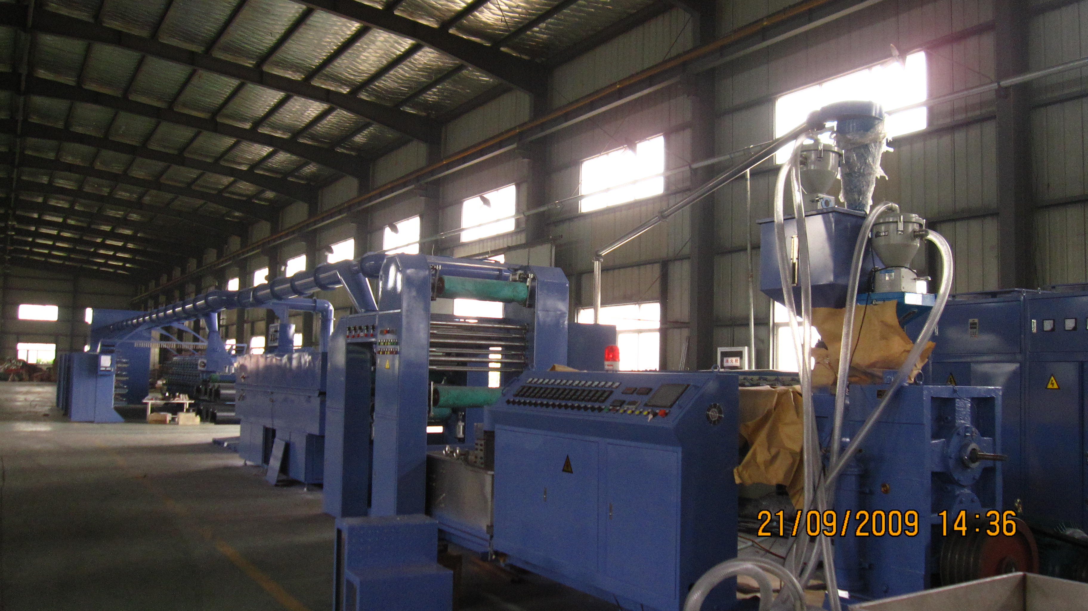 PP Woven Bag Making Machine-High Spped Tape Extruder