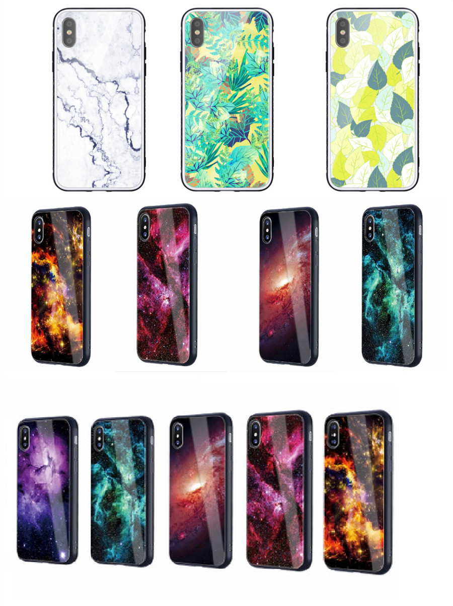 Toughened glass phone case
