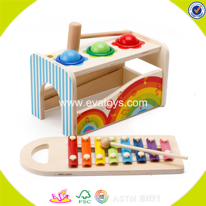 2017 wholesale funny wooden toddler music toys educational wooden toddler music toys best design