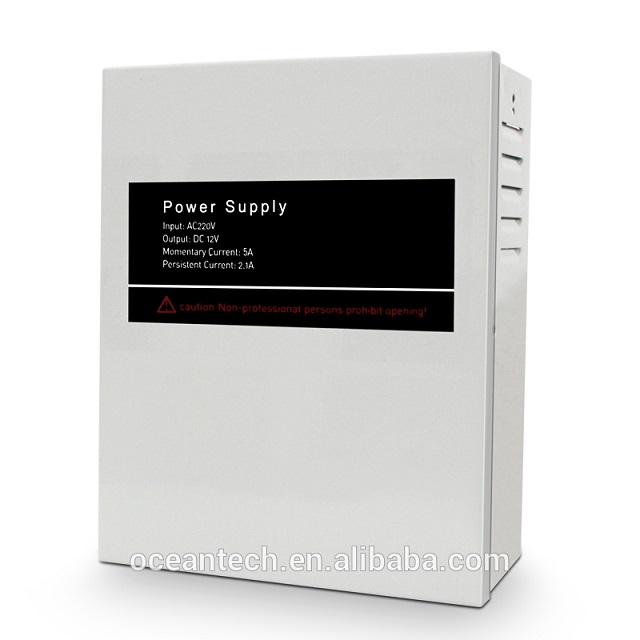 GD5AP Access Control Power Supply, Switching Power Supply with Emergency Lights, Fire Power, UPS