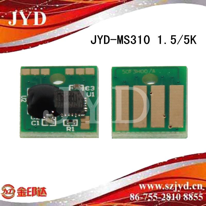 High quality toner chips for Lex MS310d/MS310dn MS410d/MS410dn MS510dn MS610DN/MS610DTN/MS610DE