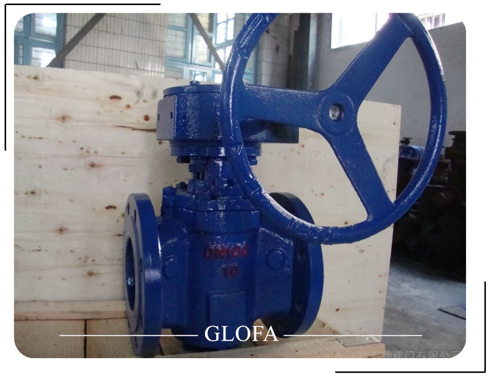 STAINLESS STEEL A351 CF8M ECCENTRIC CAST STEEL OR CAST IRON PLUG VALVE