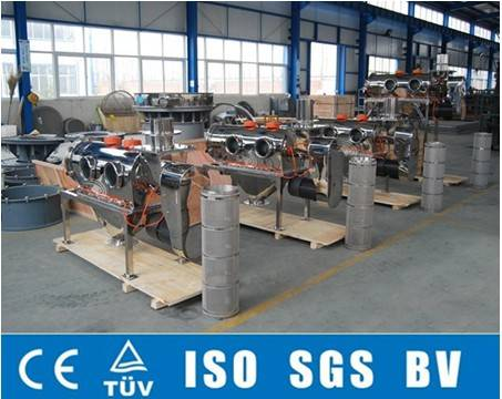 Large capacity Horizontal Airflow sieving machine for soy powder