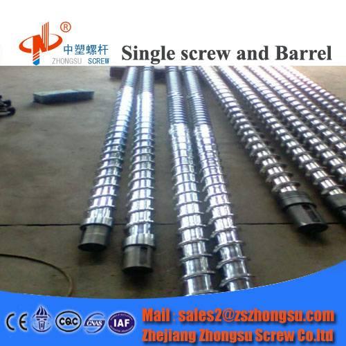plastic pvc film extruder screw barrel for extrusion