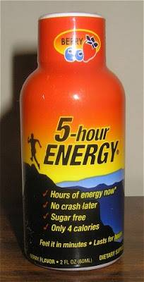 5-Hour Energy Drinks