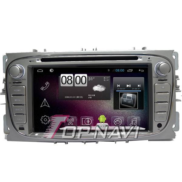 800*480 7inch Android 4.4 Car GPS Player Video For Ford Focus 2011 Navigation