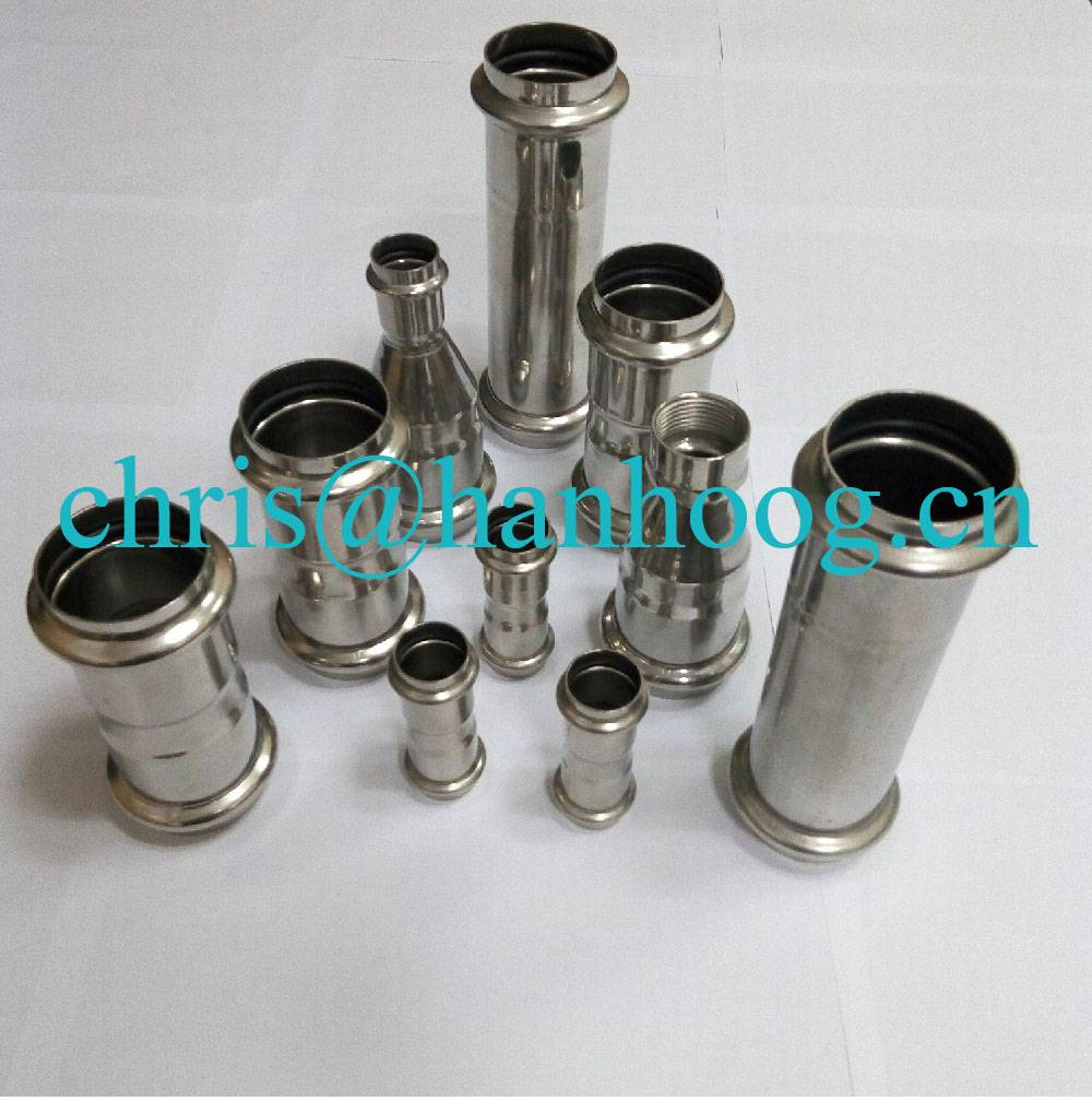stainless steel equal coupling