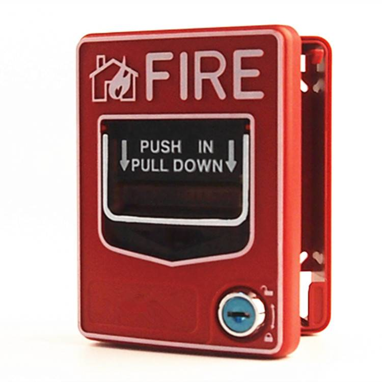 Resettable DC24V Manual Call Point Pull Station Fire Alarm Button HS-SB116
