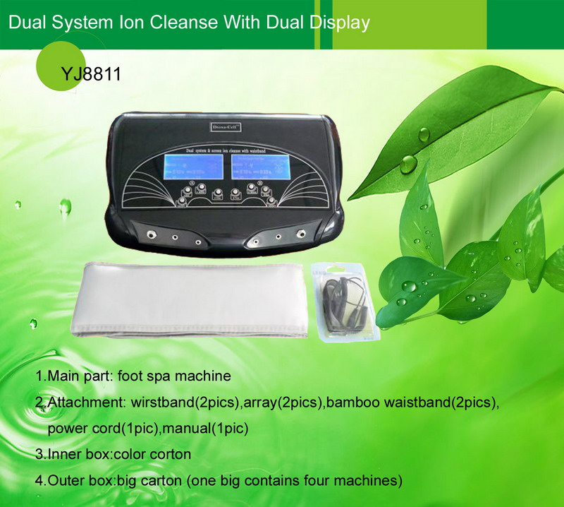 Dual System Ion Cleanse With Dual Display