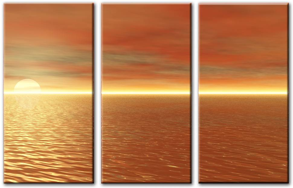 Modern Contemporary Seascape Oil Painting053
